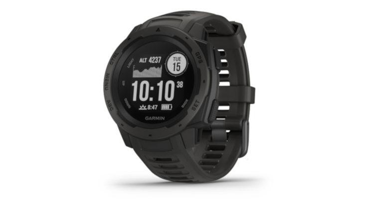 Garmin Instinct, die GPS Uhr für den harten Einsatz