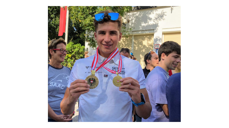 Staatsmeister Titel von Moritz Meier im Cross Triathlon